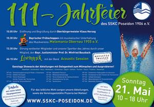 111 Jahre SSKC Aschaffenburg - Festprogramm